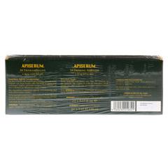 APISERUM Trinkampullen mit Gelee Royale 24x5 Milliliter - Rückseite