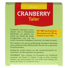 Cranberry Cerola Taler Grandel 32 Stück - Rückseite