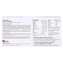 ZELL OXYGEN ZYM Anti Aging 14 Tage Kombipackung 1 Packung - Rückseite