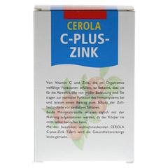 CEROLA C plus Zink Taler Grandel 60 Stück - Rückseite