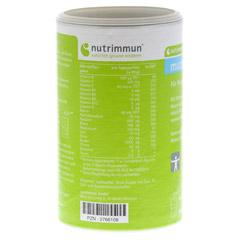 MUCOZINK Pulver 300 Gramm - Rückseite