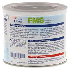 APTAMIL Frauenmilchsupplement Pulver 200 Gramm - Rückseite