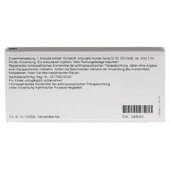 ARTICULATIO humeri GL D 5 Ampullen 10x1 Milliliter N1 - Rückseite