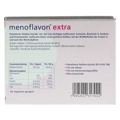 MENOFLAVON Extra Kapseln 30 Stück - Rückseite