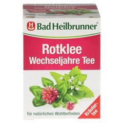 BAD HEILBRUNNER Tee Rotklee Wechseljahre Fbtl. 8 Stück - Rückseite