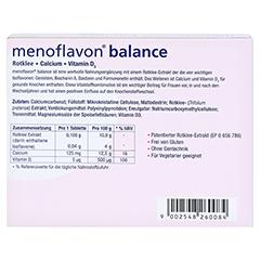 MENOFLAVON Balance Tabletten 30 Stück - Rückseite