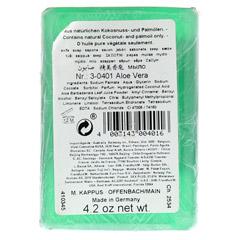KAPPUS Aloe Vera Pflanzenölseife 125 Gramm - Rückseite