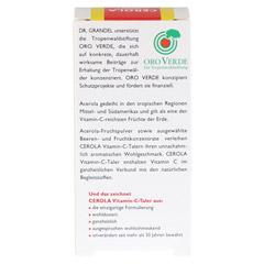 CEROLA Vitamin C Taler Grandel 16 Stück - Rückseite