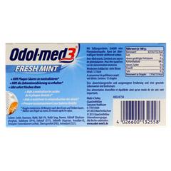 Odol-med 3 Fresh Mint Kaugummi 12 Stück - Rückseite