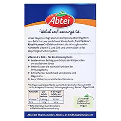 ABTEI Vitamin C + Zink 30 Stück - Rückseite