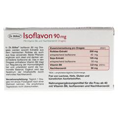 DR.BÖHM Isoflavon 90 mg Dragees 30 Stück - Rückseite