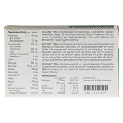 ALSIDIABET Diabetiker Mikro Durchblutung Kapseln 60 Stück - Rückseite