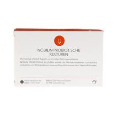 NOBILIN Probiotische Kulturen Kapseln 60 Stück - Rückseite