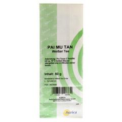 WEISSER TEE Pai Mu Tan 50 Gramm - Rückseite