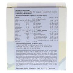 BASIS AKTIV 28 Tabletten 120 Stück - Rückseite