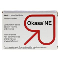 OKASA NE Dragees 100 Stück - Rückseite