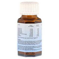 NATURAFIT Vitamin B Komplex F Kapseln 90 Stück - Rückseite