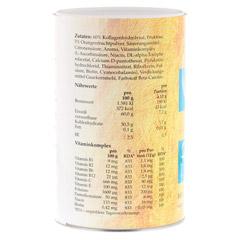GEL-ATROS Trinkgelatine Orange 400 Gramm - Rückseite