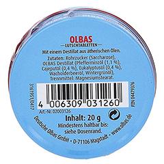OLBAS Mini Lutschtabletten 1x20 Gramm - Rückseite