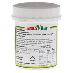 VITAMIN C Pulver Subst. Soma 250 Gramm - Rückseite