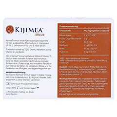 KIJIMEA Immun Pulver 14 Stück - Rückseite