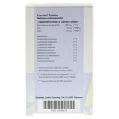 ENTEROBACT Tabletten 60 Stück - Rückseite