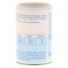 MULTIPLASAN Mineralstoffkompex 17 Tabletten 350 Stück - Rückseite