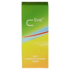 CLIVE Colostrum Extrakt Liquid 125 Milliliter - Rückseite