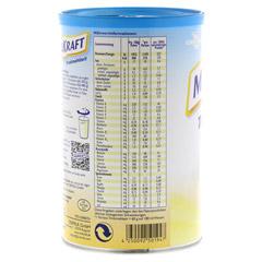 MILKRAFT Trinkmahlzeit Vanille Pulver 480 Gramm - Rückseite