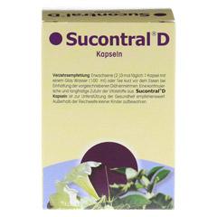 SUCONTRAL D Diabetiker Kapseln 60 Stück - Rückseite