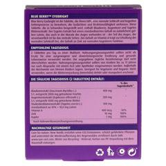 BLUE Berry Tabletten 60 Stück - Rückseite