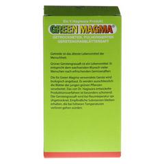 GREEN MAGMA Gerstengrasextrakt Pulver 80 Gramm - Rückseite
