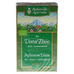 Vata Tee Filterbeutel 18 Gramm - Rückseite