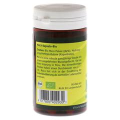 MACA KAPSELN 500 mg 60 Stück - Rückseite