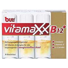 BUER VITAMAXX Trinkfläschchen 7 Stück - Vorderseite