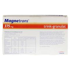 Magnetrans trink 375 mg Granulat 20 Stück - Rückseite