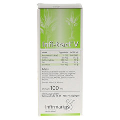 INFI TRACT V Tropfen 100 Milliliter - Rückseite