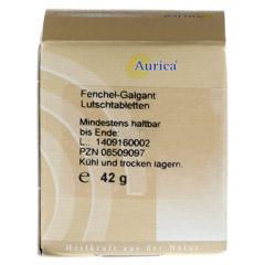FENCHEL-GALGANT-Lutschtabletten Aurica 170 Stück - Rückseite