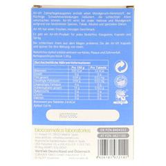 AIR-LIFT Zahnpflegekaugummi 12 Stück - Rückseite