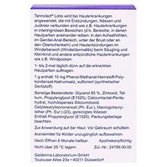 Tannolact Lotio 1% 75 Gramm N1 - Rückseite