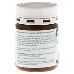 UBIQUINOL 50 mg Kapseln 60 Stück - Rückseite