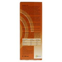 HEIDELBEER 100% Direktsaft Bio 500 Milliliter - Rückseite
