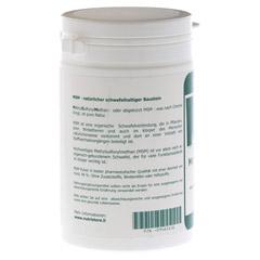 MSM 100% rein Methyl Sulfonyl Methan Pulver 250 Gramm - Rückseite