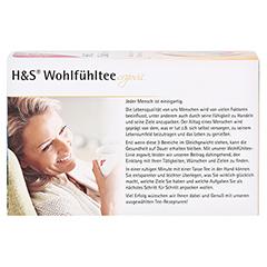 H&S Wohlfühltee Salbei Honig mit Zitrone Fbtl. 20x2.0 Gramm - Rückseite