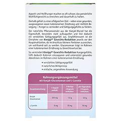 KNEIPP Gewichtsreduktion Kapseln 40 Stück - Rückseite