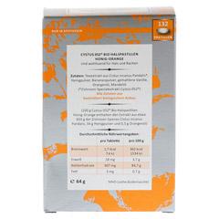 CYSTUS 052 Bio Halspastillen Honig Orange 132 Stück - Rückseite