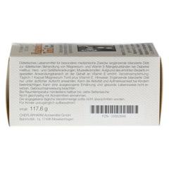 MAGNESIUM TONIL plus Vitamin E Kapseln 100 Stück - Rückseite