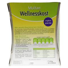 MULTAN Wellnesskost Protein-Gebäck 12x5 Stück - Rückseite