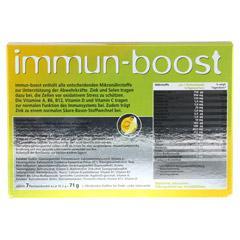 IMMUN-BOOST Orthoexpert Trinkgranulat 7x10.2 Gramm - Rückseite
