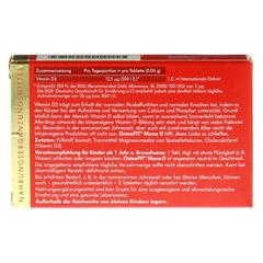 OSTEOFIT Mono D Tabletten 300 Stück - Rückseite